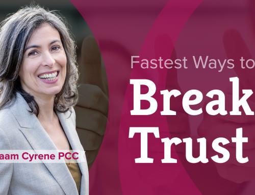 The fastest ways to break trust