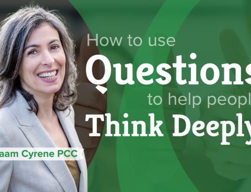 How to use questions to help people think deeply