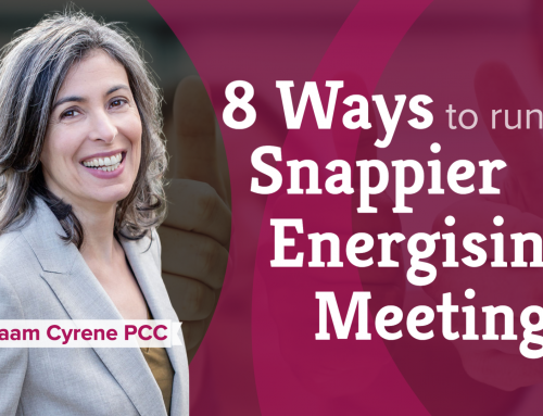 8 ways to run snappier, energising meetings (5:18)