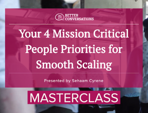 Masterclass: People Priorities for Smooth Scaling (56:04)