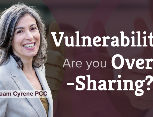 Vulnerability without boundaries — are you oversharing? (7:36)