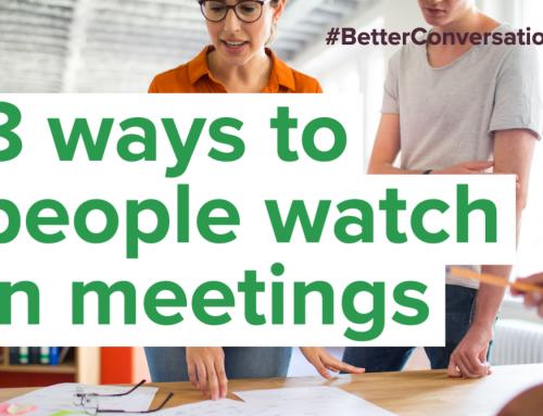 8 ways to people watch in meetings