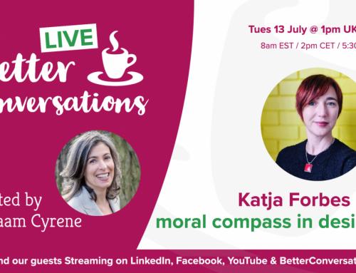 Katja Forbes on moral compass in design