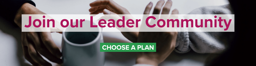 Better Conversations Community for Leaders —Choose Your Plan